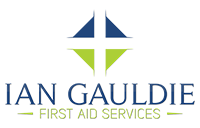 Ian Gauldie First Aid Services Logo